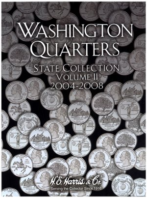 HE Harris Coin Folder Statehood Quarter Folder No. 2, 2004-2008 PD HECF2581
