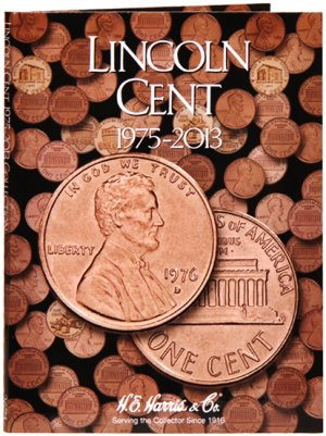 HE Harris Coin Folder Lincoln Cent No. 3, 1975-2013 HECF2674