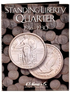 HE Harris Coin Folder Standing Liberty Quarters 1916-1930 HECF2687