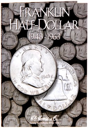 HE Harris Coin Folder Franklin Half Dollar, 1948-1963 HECF2695