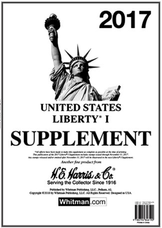H.E.Harris U.S. Liberty 1 2017 Supplement HELIB117