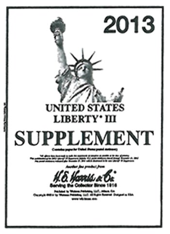 H.E.Harris U.S. Liberty 3 2013 Supplement HELIB313