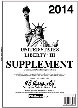 H.E.Harris U.S. Liberty 3 2014 Supplement HELIB314
