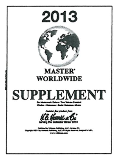 H.E.Harris Master World 2013 Supplement HEMW13