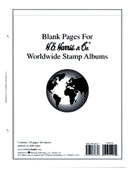 H.E.Harris Worldwide Blank Pages HEBLW