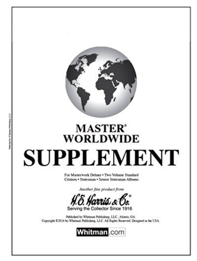 H.E.Harris Master World 2014 Supplement HEMW14
