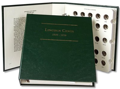 Littleton Lincoln Cent Album 1909-1958 LCA01