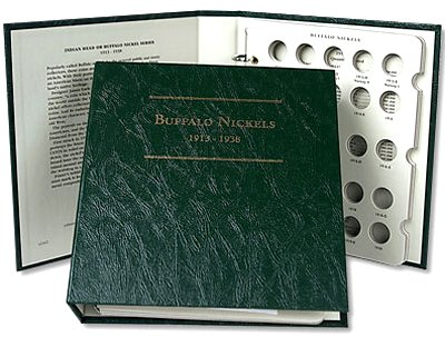 Littleton Buffalo Nickel Album 1913-1938 LCA22