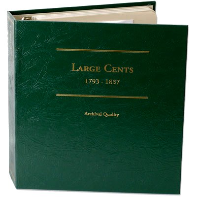 Littleton Large Cent Album 1793-1857 LCA36