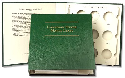 Littleton Canadian Silver Maple Leaf Album 1988-DT LCA46