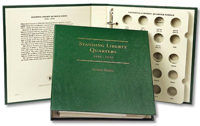 Littleton Standing Liberty Quarter Album 1916-1930 LCA57