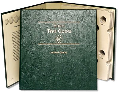 Littleton Euro Type Coin Album LCA58