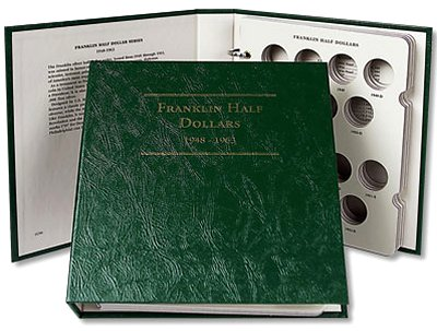 Littleton Franklin Half Dollar Album 1948-1963 LCA06
