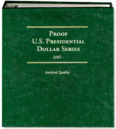 Littleton Presidential Dollar Album for S Mint Issues 2007-16 LCA71