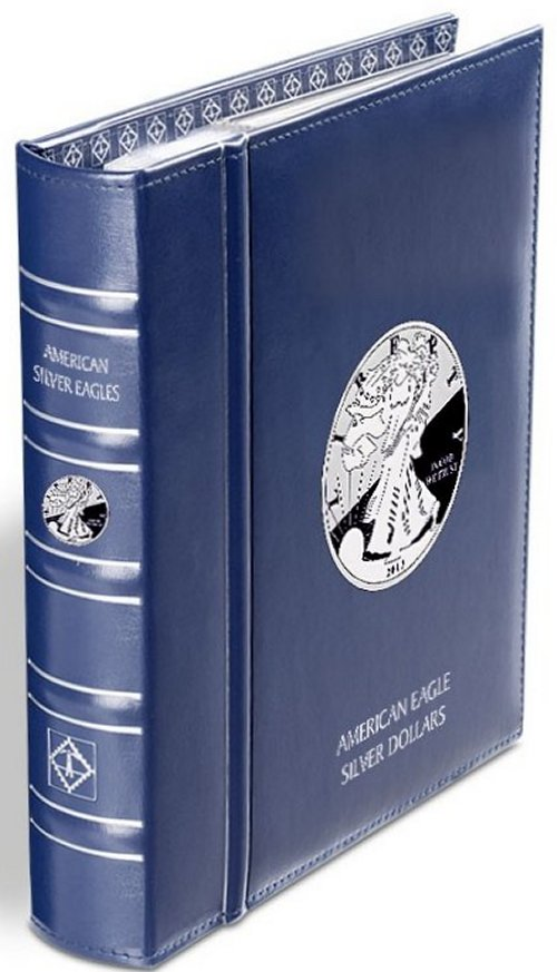 Lighthouse American Silver Eagle Album with SC  344653 LHCAASE