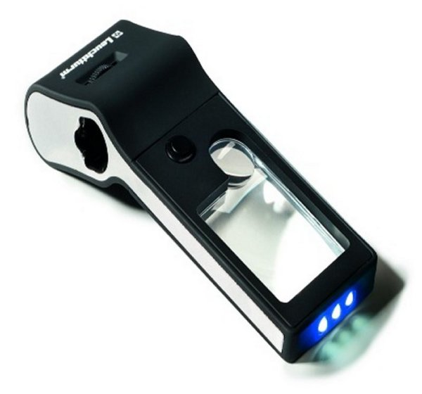 LU 176 6-in-1 LED Pocket Magnifier w/Microscope  LHMAGLU176