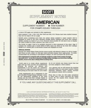 Scott US AMERICAN Supplement 2007  SCAM07