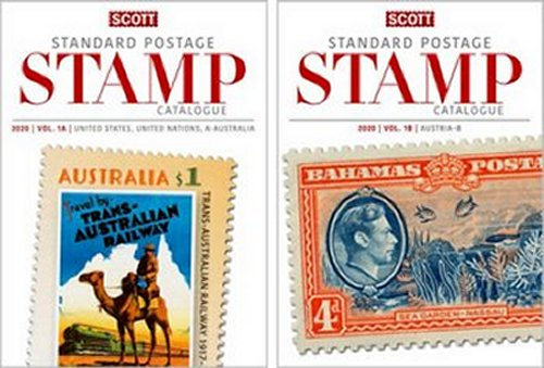 Scott STANDARD POSTAGE STAMP CATALOGUE 2020 VOLUME 1 USA AB  SCCAT120