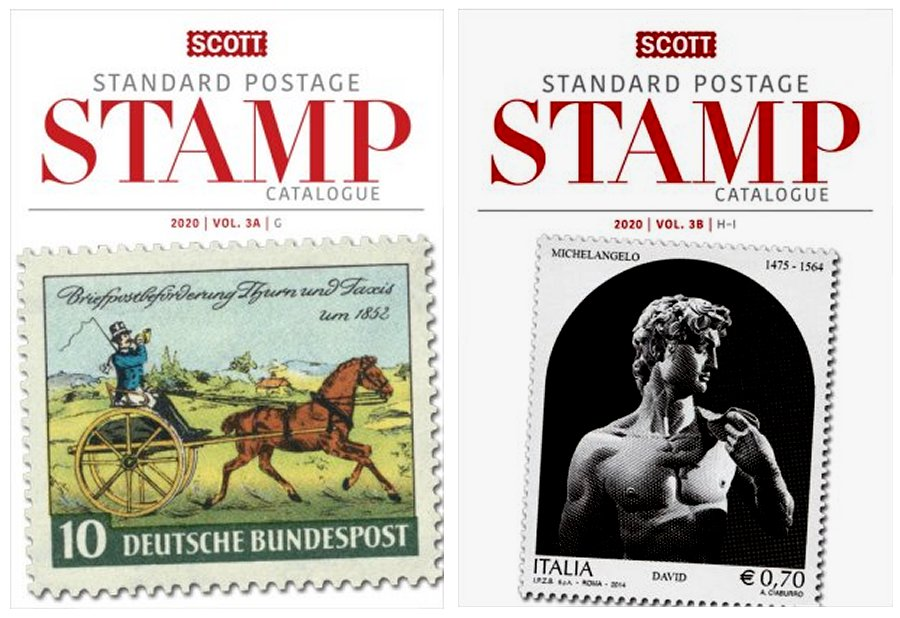 Scott STANDARD POSTAGE STAMP CATALOGUE 2020 VOLUME 3 COUNTRIES G-I AB SCCAT320