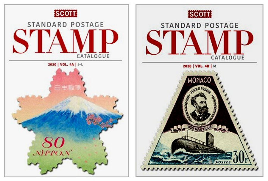 Scott STANDARD POSTAGE STAMP CATALOGUE 2020 VOLUME 4 COUNTRIES J-M  AB SCCAT420