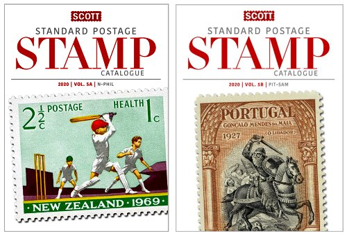 Scott STANDARD POSTAGE STAMP CATALOGUE 2020 VOLUME 5 COUNTRIES N-SAM  AB SCCAT520