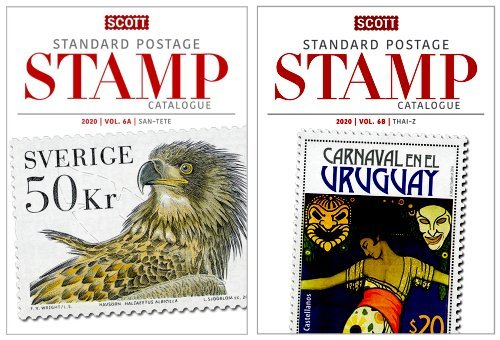 Scott STANDARD POSTAGE STAMP CATALOGUE 2020 VOLUME 6 COUNTRIES SAN MARINO-Z  AB SCCAT620