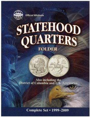 Whitman 50 Statehood, DC,  Territory Quarters, 1999-2009  DS #WH8097