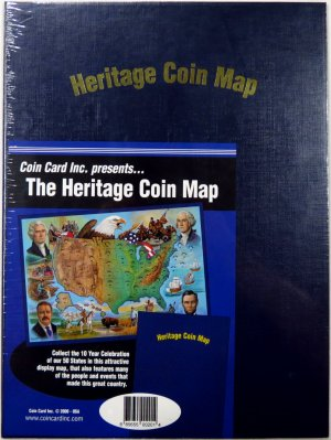 Heritage Quarter Map - Blue TKMAPH