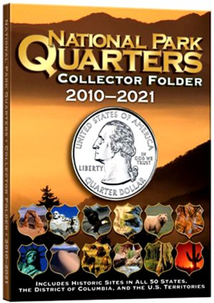 Whitman National Park Quarters 4 Color, DS, 60 Coin, 2010-2021 WH2883
