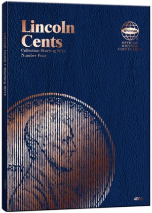 Whitman Lincoln Cents #4, 2014- WH4004