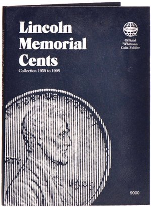 Whitman Lincoln Memorial Cents #1, 1959-1998   WH9000