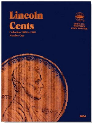 Whitman Lincoln Cents #1, 1909-1940 WH9004
