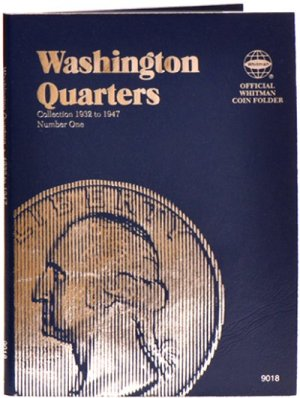 Whitman Washington Quarters #1, 1932-1947 WH9018