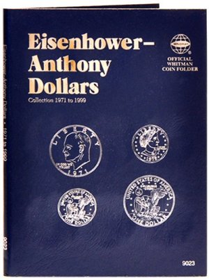 Whitman Eisenhower/Anthony Dollars, 1971-1999 WH9023