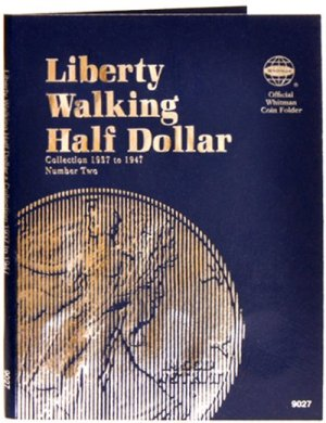 Whitman Liberty Walking Halves #2, 1937-1947 WH9027