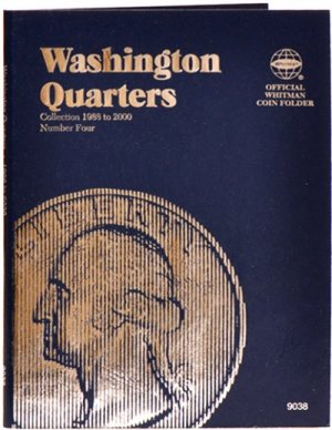 Whitman Washington Quarters #4, 1988-1998 WH9038