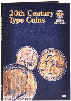 Whitman 20th Century Type Coins - Plain Folder WH9046