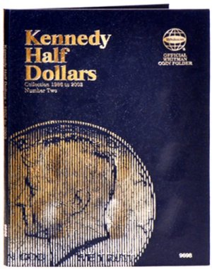 Whitman Kennedy Halves #2, 1986-2003 WH9698