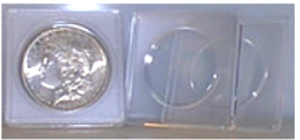 Edgar Marcus Half Dollar 2x2 Plastic Holder EM2250